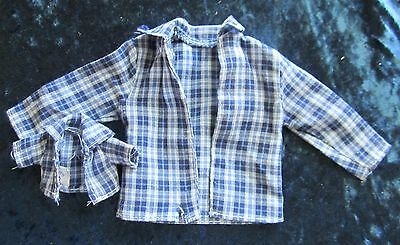 Fisher Price Loving Family Matching Plaid Shirts For Father and Baby