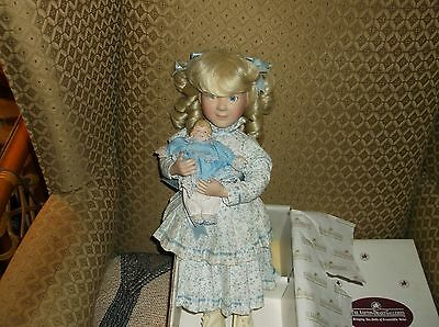 "1993 Little House On The Praire Doll ""nellie""      Ashton Drake"