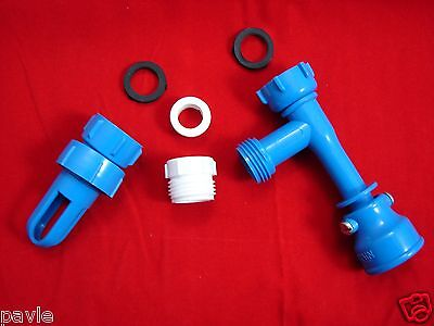 Waterbed Fill and Drain Kit with Venturi Pump