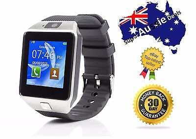 Smart Wrist Watch SIM Phone Bluetooth Camera For iPhone Android HTC Samsung DZ09