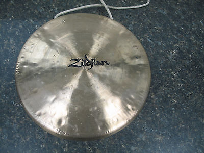 "Zildjian 10"" Gong rarely Used in Excellent Shape With Hanging Rope"