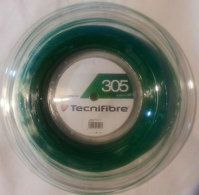 NEW Tecnifibre 305 squash string reel 18Ga. (1.10mm)