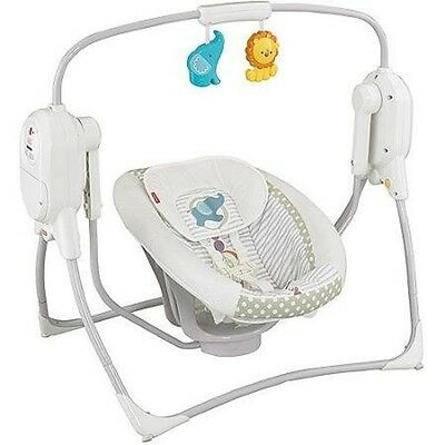 Fisher-Price Power Plus SpaceSaver Cradle 'n Swing (Discontinued by Manufacturer