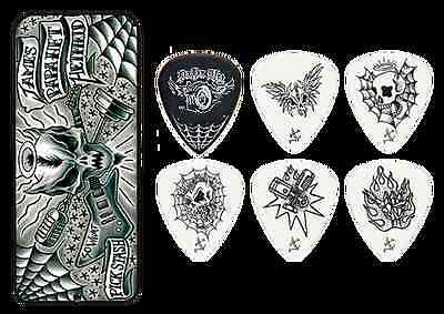 Metallica James Hetfield Guitar Picks In Collector's Tin.