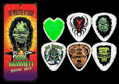 Metallica Kirk Hammett Guitar Picks In Collector's Tin.