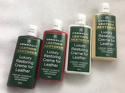 Connolly Leather Restorer 150ml - Furniture Polish, Automotive, Shoes & Bags
