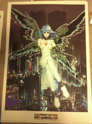 GHOST IN THE SHELL Masamune Shirow INTRON DEPOT Cyberdelics print