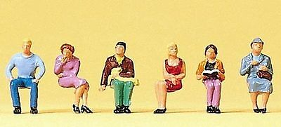 Figurines Preiser TT (75004): Seated People