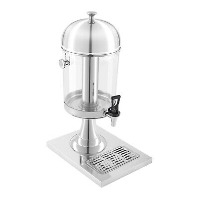 Juice Dispenser Buffet Soft Drink Beverage Drink Fountain Tap 1X7L Container