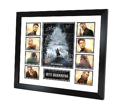 Star Trek - Into Darkness - Signed Photo - Movie Memorabilia - Framed - COA