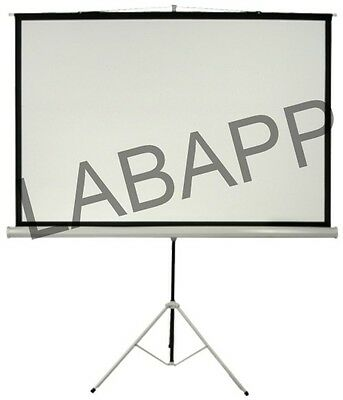Projection Screen (With Metallic Stand) Labapp-111 B