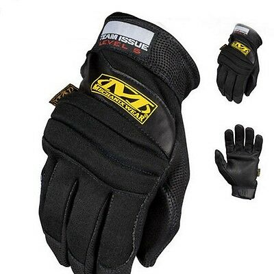 US Mechanix Wear Team Issue Army Combat Gloves Outdoor Sports Black Carbon