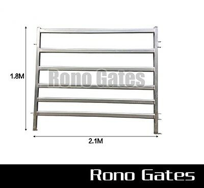 2mm thick Heavy Duty Cattle Horse Yard Panel Galvanized Steel
