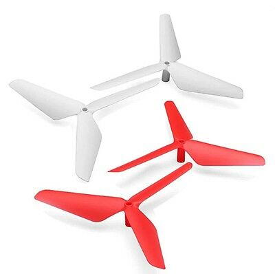 3-Blade Propeller Upgrade for Syma RC Quadcopter X5C X5 White/Red