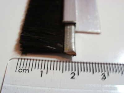 Strong draught excluder Bottom Door Seal Durable Nylon brush strip 890mm x 13mm