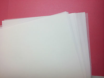 VELLUM 20x translucent paper A4 for scrapbooking and  wedding invitation- 83gsm