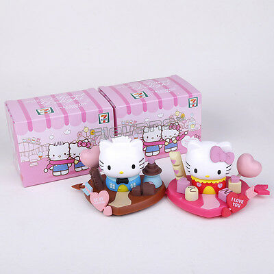 Hello Kitty Figure Sanrio Figures New Mini Lot X Toy 1 Set Playset Love Gift Box