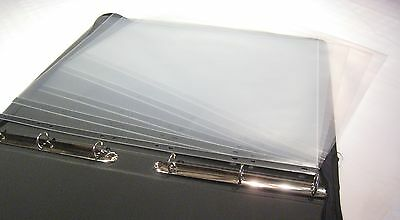Clear Plastic A2 Portfolio Artist Display Presentation Sleeves, 5,10,25,100