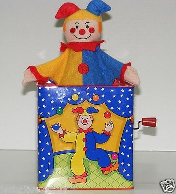 90's Schylling Jester JACK IN THE BOX