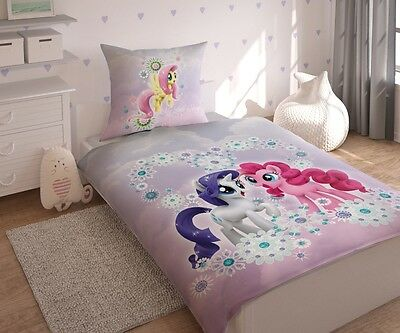 Bedding Set My Little Pony LICENSED 100%Cotton,Pinkie,Fluttershy,Rarity UK Store