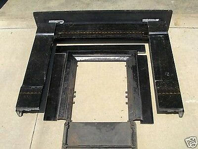 Faux Marble carved mantle