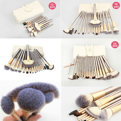 Professional 24 Pcs Make Up Brushes Set Foundation Brushes Kabuki Makeup Tool
