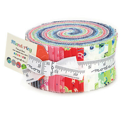 "Moda Jelly Roll - Manderley - 40 pieces 2.5"" x 44"""