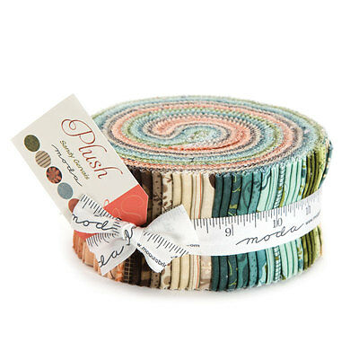 "Moda Jelly Roll - Plush - 40 pieces 2.5"" x 44"""