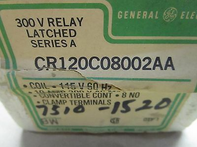 GE 300 V Relay Latched Series A CR120C08002AA