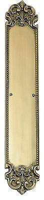 LAS VEGAS HARDWARE Polished Brass Push Plate 3 in X 18 in