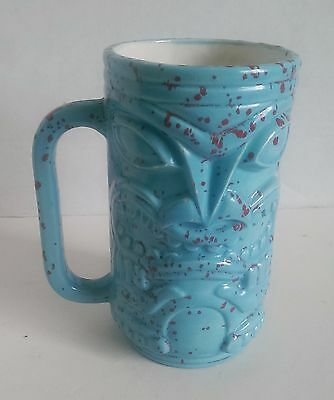 Tiki Mug Hawaiian Cup 20 Oz Ceramic Vintage With Handle