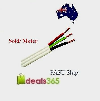 Electrical Cable 4mm Twin And Earth T+E Tps Per Metre Buy Direct