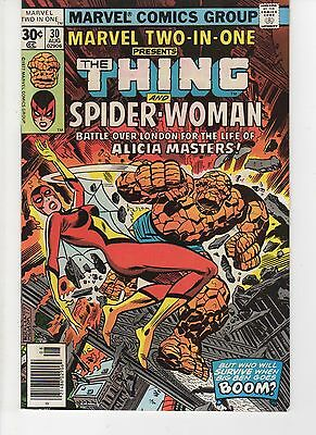 Marvel Two In One 30 (VF)