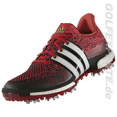 adidas Golf HERREN GOLFSCHUHE TOUR 360 PRIME BOOST CORE BLACK-WHITE-POWER RED