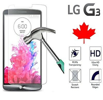 LG G3 Premium Tempered Glass Screen Protector