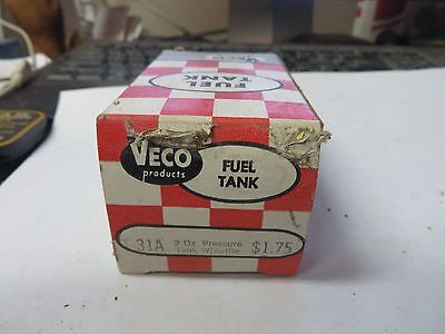 MODEL AIRPLANE veco fuel tank #T-31A 2oz. pressure tank w/baffle