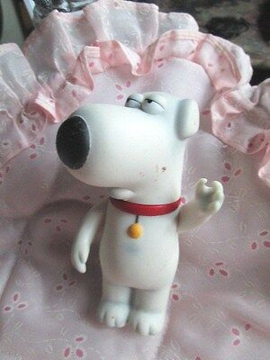 """Family Guy's--Brian Griffin 4"""" Tall- Mezco 2004 Fox--Spots Various Places Guc"""