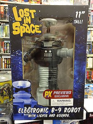Lost In Space B-9 Electronic Robot Anti Matter Man Version Previews Exclusive