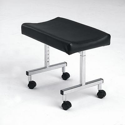 Adjustable leg rest foot stool footstool mobility aid with castors