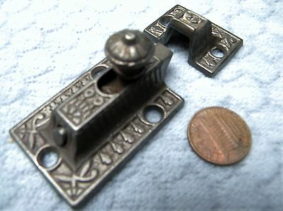 Cupboard Latch Cabinet Slide Eastlake  Victorian Windsor