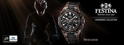 NEW Festina Chrono Bike Limited Edition Tour de France 2014 Watch F16776/1