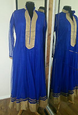 Asian Indian Bollywood Pakistani girls/womens/ladies outfit frock size s/m