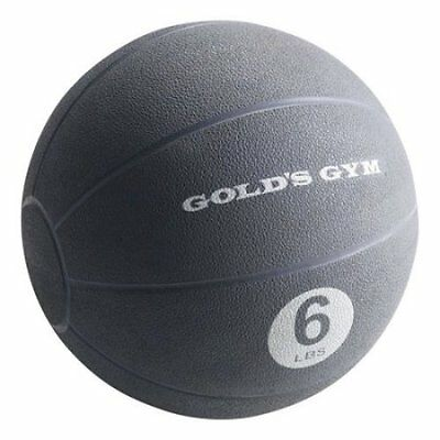 Gold Gym 6 lb Medicine Ball Workout Fitness