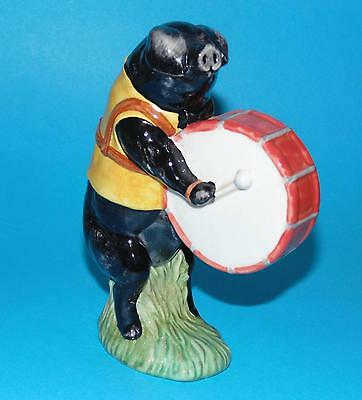 Beswick  figurine pig ' Michael the drum player ' PP6 Ornament 1st Quality