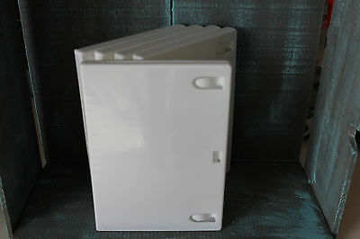 5 White Dvd/cd Cases With Insert - New - Standard Quality - Empty
