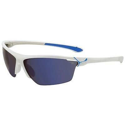 Cebe Cinetik Medium Sunglasses (White/blue Frame)