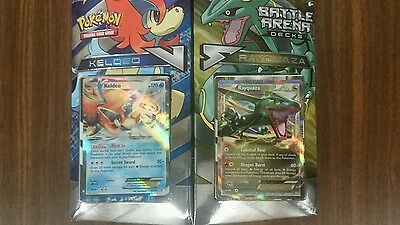 Pokemon TCG Battle Arena Decks Keldeo VS Rayquaza Factory Sealed