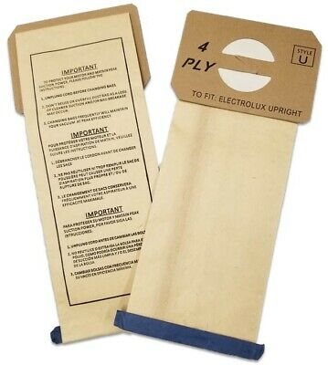 12 Electrolux Upright Style U Allergy Vacuum bags MADE IN USA!!