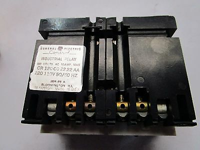GE CR120C02222AA Latched Relay Series A