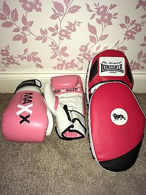 Beginners boxing equiptment.